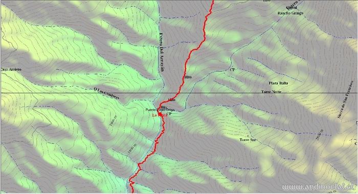 Tramo Medio Track Ascenso Co. De Los Ángeles 3.623msnm